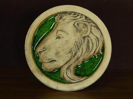Панно лев