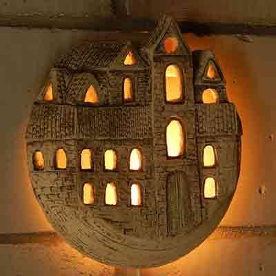 Настенный светильник Город