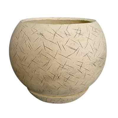 Керамический горшок для цветов Шар №2