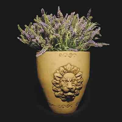 Цветочный горшок Лира (декор)