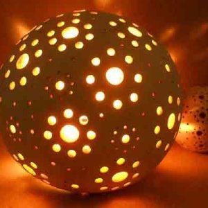 Ландшафтный светильник Шар-3(а)