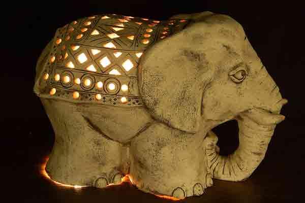 Декор для сада Слон (авторский)