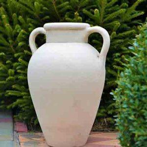 Большой керамический вазон Амфора №3(напольная)