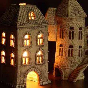 Светильник декоративный Замок-2