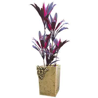 Прямоугольный горшок для цветов Куб №2