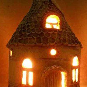 Светильник Дом-6