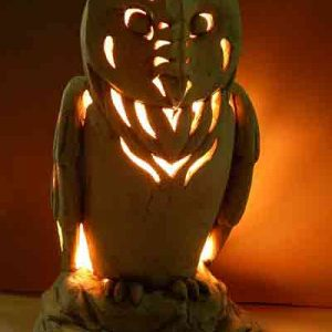 Садовый светильник Сова