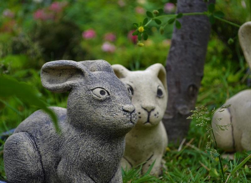 Фигурки животных Зайчики