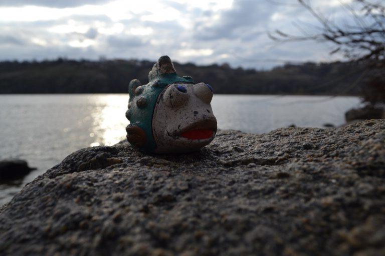 Керамический сувенир в виде рыбки 1
