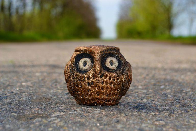Керамический сувенир Сова