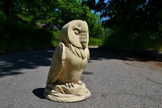 Садовая фигура сова
