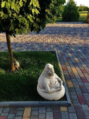 Садовая фигура Ждун