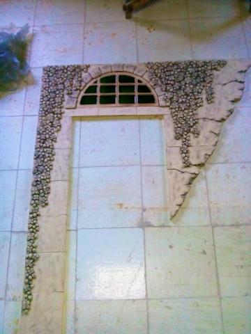 Изготовление керамического панно