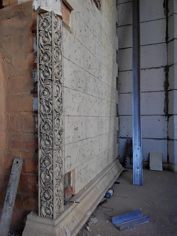 Плитка для печного комплекса