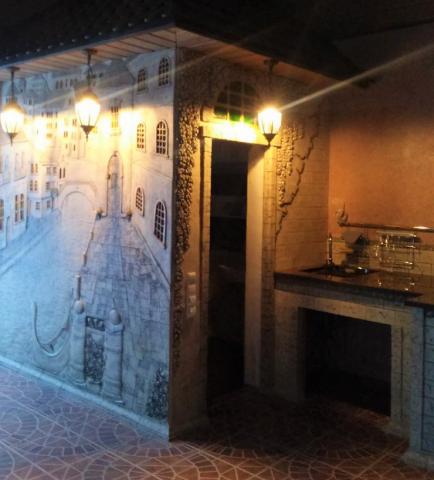 Большое керамическое панно Венеция