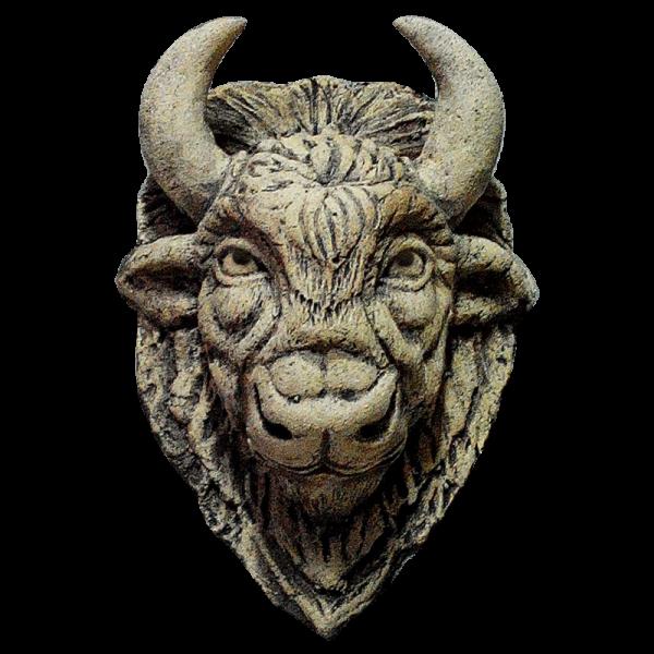Настенная маска буйвола 10