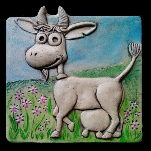 Панно коза