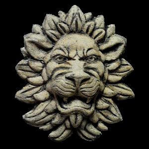 Настенная маска льва