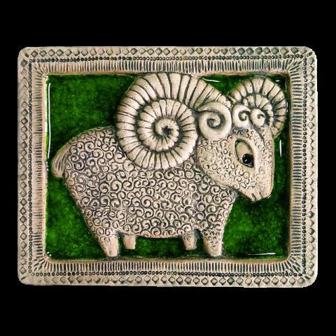 Панно овечка