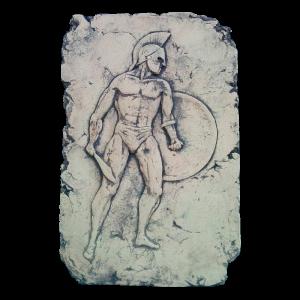 Панно спартанец