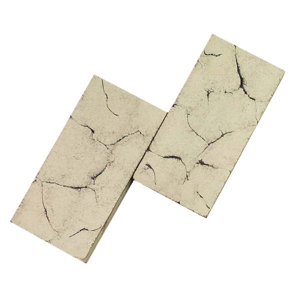Огнеупорная плитка для каминов и печей №1