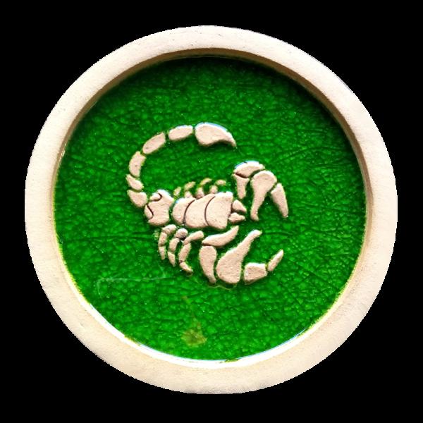 Панно скорпион