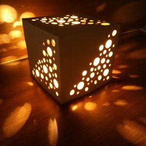 Светящаяся фигура Куб-1