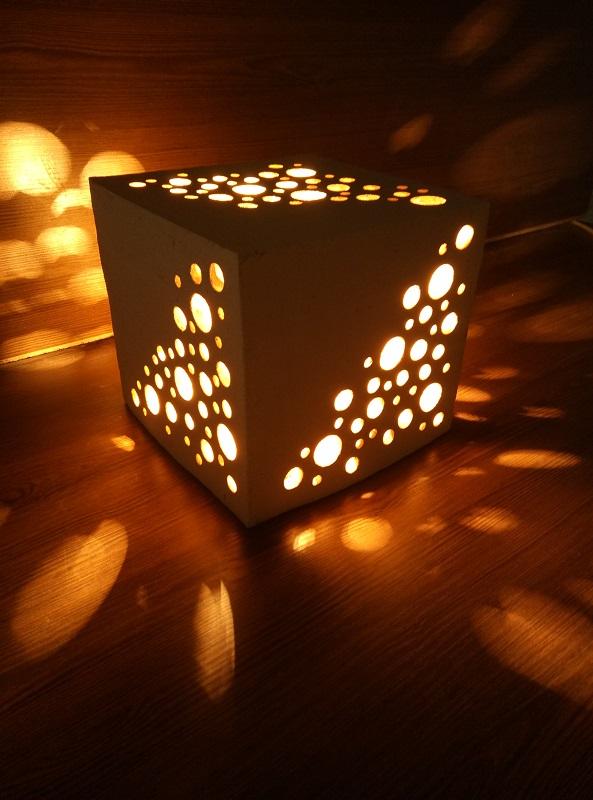 Светящаяся фигура Куб-1 10