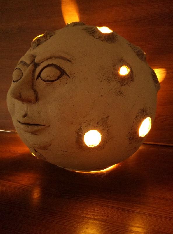 Светильник в виде луны (Ø 320 мм)