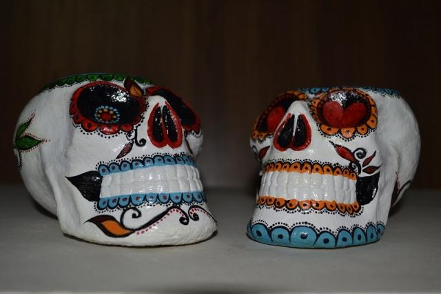 Оригинальный сувенир череп