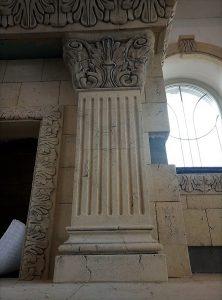 Фасадная колонна