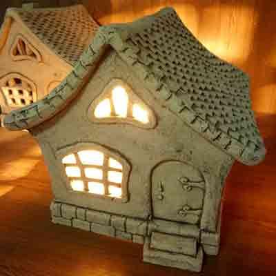 Декоративный светильник Дом-7