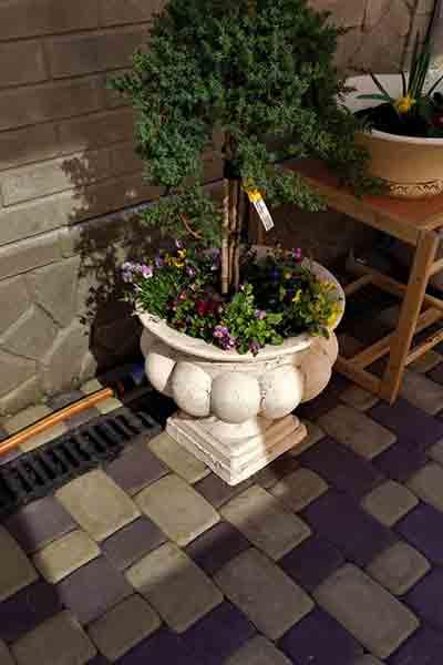 Садовая ваза Греческая