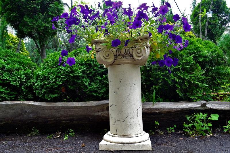 Горшок в виде колонны