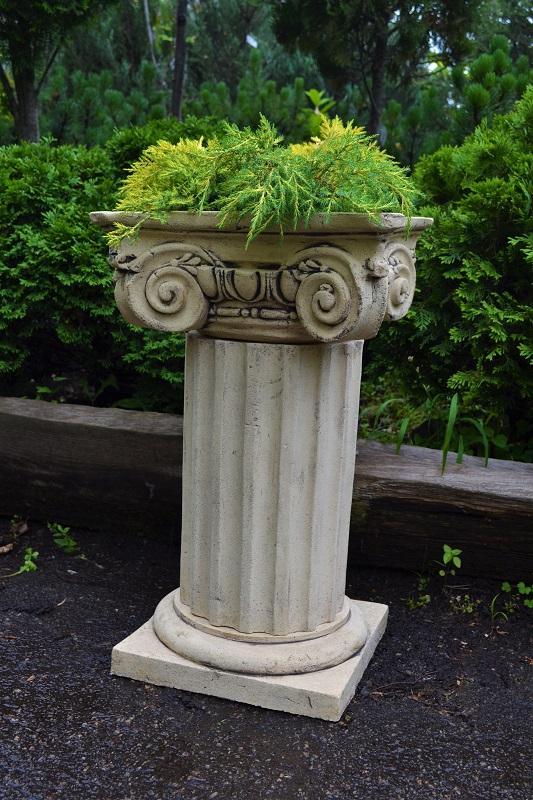 Кашпо в виде колонны
