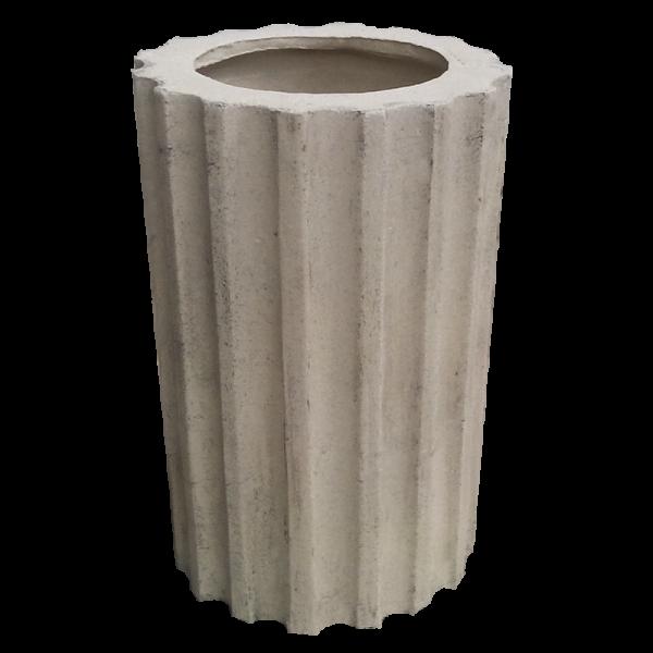 Секция колонны (каннелированная)