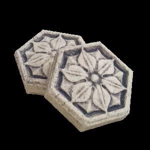 Шестиугольная плитка для каминов и печей №11
