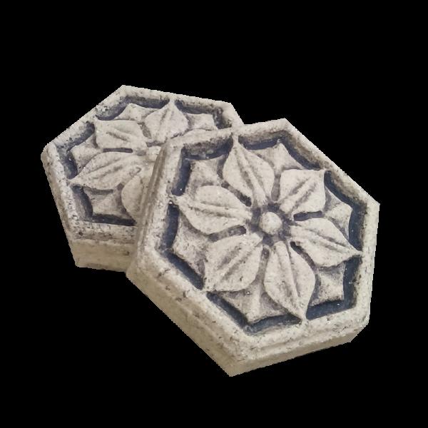 Шестиугольная плитка для каминов и печей №11 1