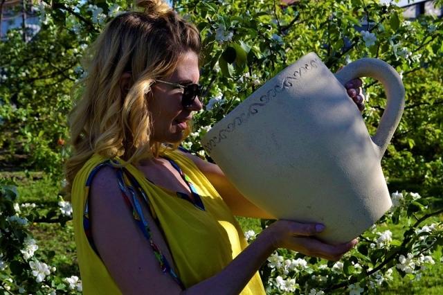 Горшок для цветов Чашка