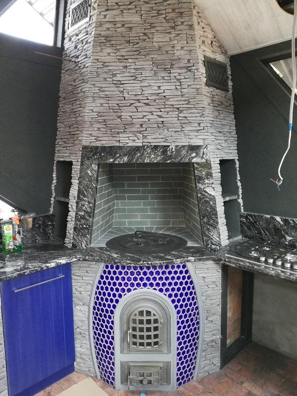 Барбекю комплекс с тандыром