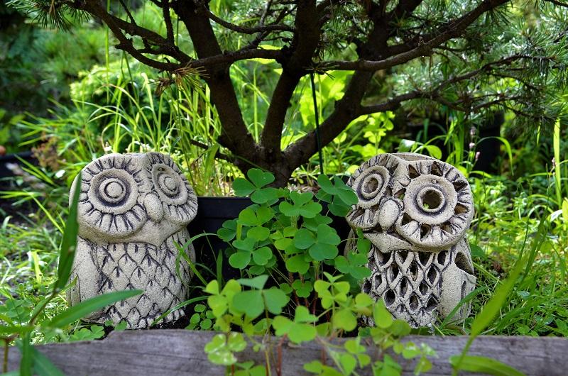 Садовая фигура - Совёнок