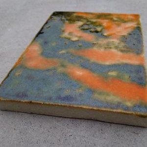 Шамотная плитка термостойкая глазурованная