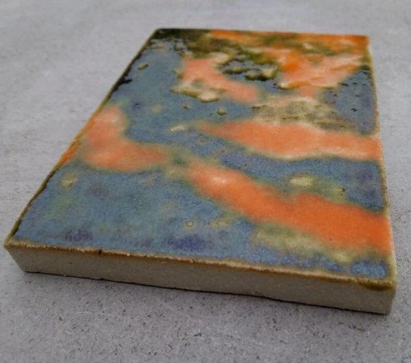 Шамотная плитка термостойкая глазурованная 10