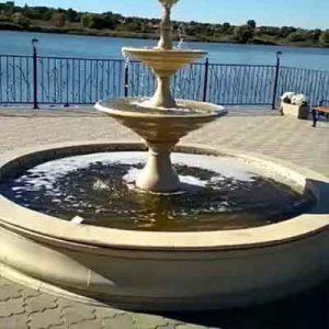 Керамический фонтан с чашей