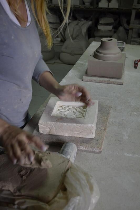 Плитка для камина