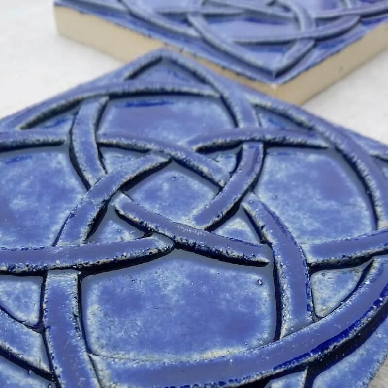 Плитка для камина с глазурью