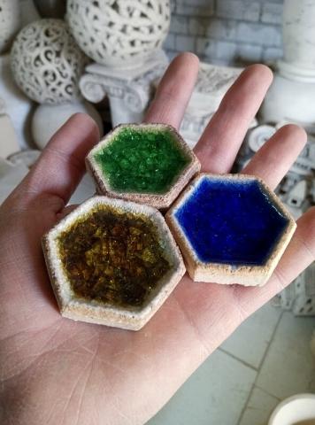 Плитка для камина со стеклом