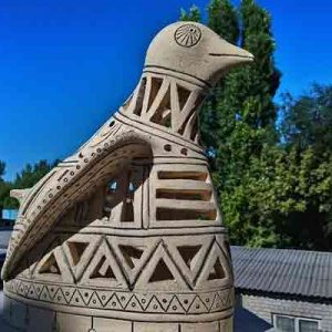 """Авторская скульптура """"Птица"""""""