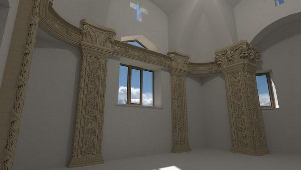 Колонны для декора стен 1