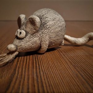 колокольчик мышка - новогодний сувенир
